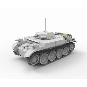 ブロンコモデル CB-35124 1/35 II号 E型 火炎放射戦車 フラミンゴ 湿式履帯 rainbowten 02