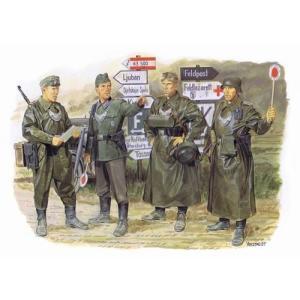 ドラゴン 6061 1/35 WW.II ドイツ軍 野戦憲兵|rainbowten