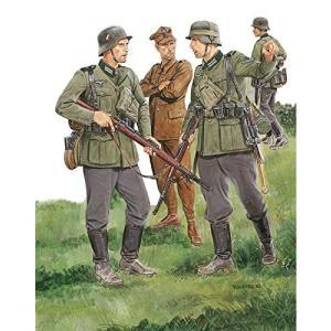 ドラゴン 6344 1/35 WW.II ドイツ軍 第28歩兵師団兵 & ポーランド軍兵士捕虜 ポーランド 1939|rainbowten