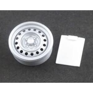 ASUKA MODEL(アスカモデル) Orange wheels 1/24 OW-02 M-style(スタイル) 白色4個(1台分) オマケパーツ:A4クリップボード ※15インチ相当 rainbowten