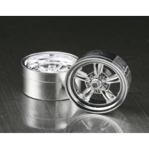 ASUKA MODEL(アスカモデル) Orange wheels 1/24 OW-07 A-style メッキタイプ メッキ・4個(1台分) ※15インチ相当 rainbowten