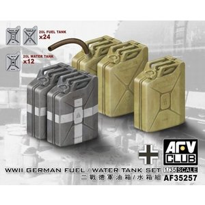 AFVクラブ AF35257 1/35 WWII ドイツ軍 20リットル燃料/水タンクセット|rainbowten