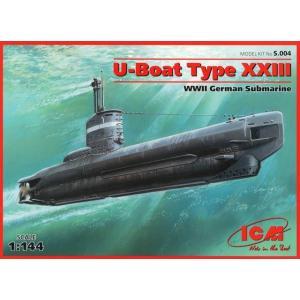 ICM S004 1/144 ドイツ潜水艦 U-ボート23型 rainbowten