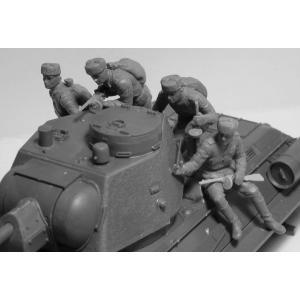 ICM 35369 1/35 ソビエト T-34/85 w/戦車搭乗兵|rainbowten|02