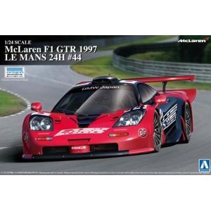 アオシマ スーパーカーシリーズ 13 1/24 マクラーレン F1 GTR 1997 ルマン24時間 #44|rainbowten