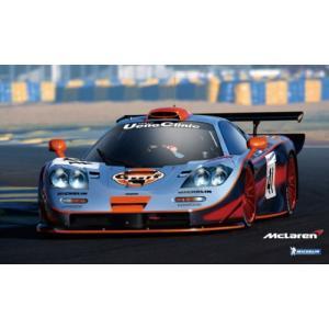 アオシマ スーパーカーシリーズ 19 1/24 マクラーレン F1 GTR 1997 ルマン24時間 ガルフ #41|rainbowten