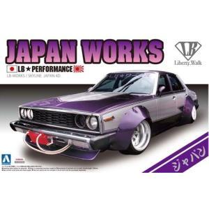 アオシマ グラチャンシリーズ番外編 リバティーウォーク 01 1/24 LBワークス ジャパン4Dr|rainbowten