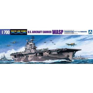 アオシマ #1032 1/700 米国航空母艦 WASP マルタ島輸送作戦|rainbowten