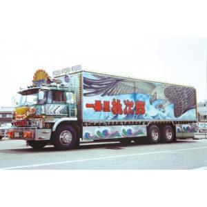 アオシマ トラック野郎 07 1/32 一番星 度胸一番星|rainbowten