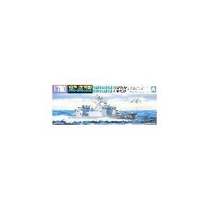 アオシマ 017 1/700 海上自衛隊ミサイル艦 わかたか/くまたか|rainbowten