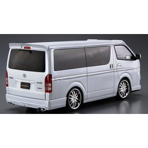 アオシマ ザ・チューンドカー No.28 1/24 シルクブレイズ TRH200V ハイエース Ver.III '10(トヨタ) rainbowten 02