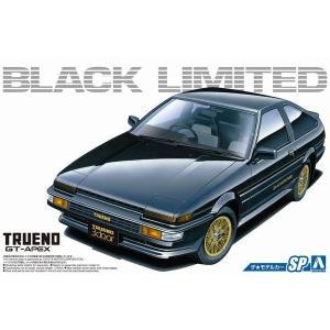 アオシマ ザ・モデルカー No.SP 1/24 トヨタ AE86 スプリンタートレノ GT-APEX ブラックリミテッド '86|rainbowten
