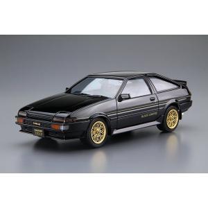 アオシマ ザ・モデルカー No.SP 1/24 トヨタ AE86 スプリンタートレノ GT-APEX ブラックリミテッド '86|rainbowten|02