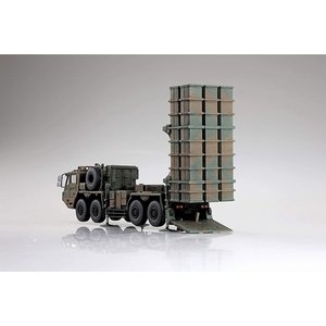 アオシマ ミリタリーモデルキットシリーズNo.20 1/72 陸上自衛隊 03式中距離地対空誘導弾|rainbowten|02