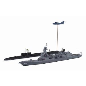 アオシマ 055656 1/700 海上自衛隊護衛隊 DD-119 あさひ SP シーレーン防衛作戦|rainbowten