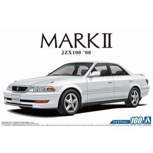 アオシマ ザ・モデルカー No.100 1/24 トヨタ JZX100 マークII ツアラーV '00 rainbowten