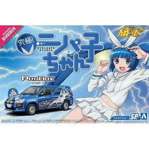 アオシマ ザ・モデルカー No.SP 1/24 トヨタ NCP160V プロボックス '14 痛車 究極ニパ子ちゃん rainbowten