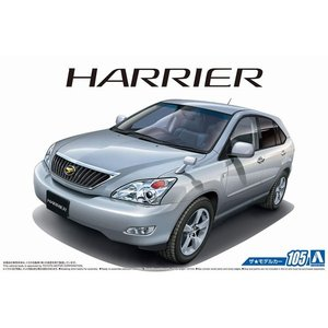 アオシマ ザ・モデルカー No.105 1/24 トヨタ GSU30W ハリアー 350G プレミアム Lパッケージ '06|rainbowten