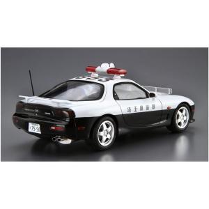アオシマ ザ・モデルカー No.SP 1/24 マツダ FD3S RX-7 レーダーパトロールカー 1998|rainbowten|02