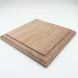 川合木工所 P77 木製飾り台 正方形 ユーカリ 15mmX150mmX150mm rainbowten