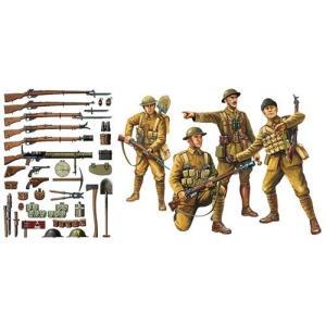 タミヤ 32409 1/35 WWI イギリス歩兵・小火器セット(人形4体/小火器・装備を豊富にセット)|rainbowten