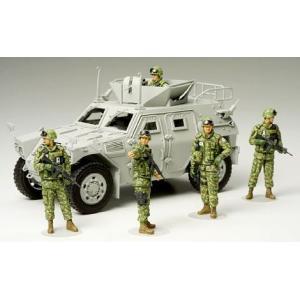 タミヤ MM276 1/35 陸上自衛隊 イラク派遣隊員セット|rainbowten|02
