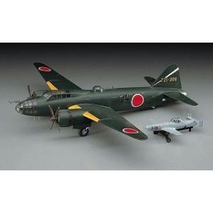 ハセガワ E20 1/72 三菱 G4M2E 一式陸上攻撃機 二四型 丁 桜花 一一型付|rainbowten