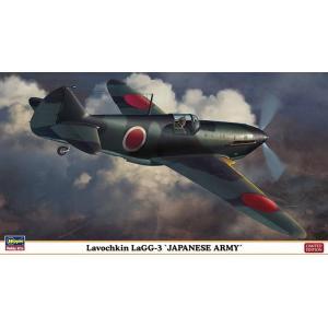 ハセガワ 07417 1/48 ラボーチキン LaGG-3 '日本陸軍' ※限定生産版