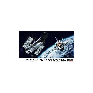 ハセガワ 10676 1/200 スペースシャトル オービター & ハッブル宇宙望遠鏡|rainbowten
