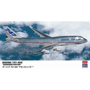 ハセガワ 10832 1/200 ボーイング 747-400 デモンストレイター ※限定生産版|rainbowten
