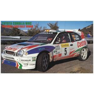 ハセガワ 20266 1/24 トヨタ カローラWRC 1998 モンテカルロ ラリー ウィナー ※限定生産版|rainbowten