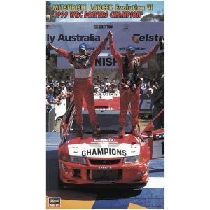 ハセガワ 20303 1/24 三菱 ランサーエボリューション VI '1999 WRC ドライバーズチャンピオン'|rainbowten