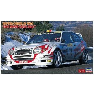ハセガワ 20396 1/24 トヨタ カローラ WRC '2000 モンテカルロ ラリー'  ※限定品|rainbowten