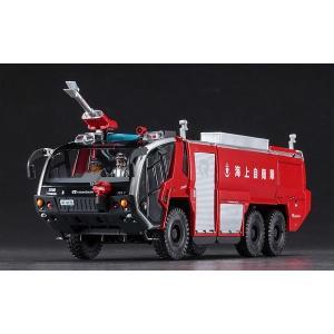 ハセガワ サイエンスワールドシリーズ SP435 1/72 ローゼンバウアー パンサー 6X6 空港用化学消防車 '海上自衛隊' rainbowten 02
