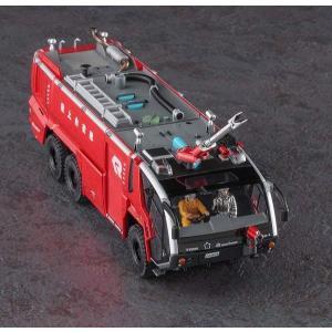 ハセガワ サイエンスワールドシリーズ SW05 1/72 ローゼンバウアー パンサー 6X6 空港用化学消防車|rainbowten|02
