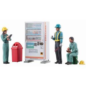 ハセガワ WM06 1/35 建設作業員セットB (休憩3体セット & 自販機)|rainbowten