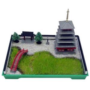 マイクロエース(河合商会) 箱庭シリーズ2 1/250 五重塔|rainbowten