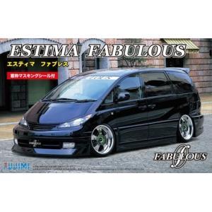 フジミ ID22 1/24 トヨタ エスティマ ファブレス(窓枠マスキングシール付)|rainbowten