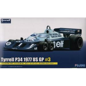 フジミ GP39 1/20 ティレル P34 1977 アメリカGP #3 ロニー・ピーターソン ロングホイールバージョン rainbowten