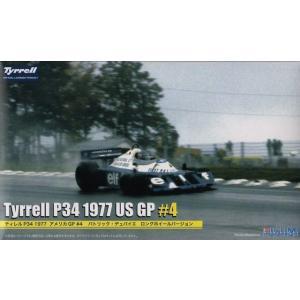 フジミ GP40 1/20 ティレル P34 1977 アメリカGP #4 パトリック・デュパイエ ロングホイールバージョン|rainbowten