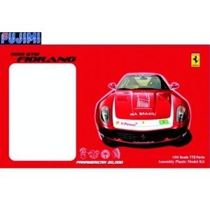 フジミ RS20000 1/24 フェラーリ 599GTB フィオラーノ パンアメリカン20000 ブラジルデカール|rainbowten