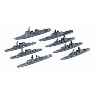 フジミ 集める軍艦シリーズ No.35 1/3000 海上自衛隊第2護衛隊群 1998年 くらま あさゆき こんごう 等8隻|rainbowten