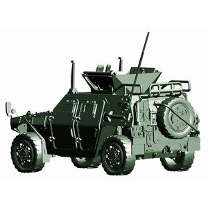 フジミ 72M-17 1/72 陸上自衛隊 軽装甲機動車(国際活動教育隊) 2両入り rainbowten 02