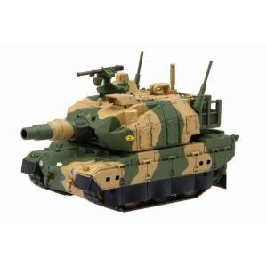 フジミ ちび丸 ミリタリーシリーズ SPOT No.03 10式戦車(ディスプレイ用彩色済み台座 & 壁面イラスト付き) rainbowten