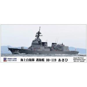 ピットロード J82 1/700 海上自衛隊 護衛艦 DD-119 あさひ(洋上/フルハルモデル選択式) ※J28リニューアル版|rainbowten