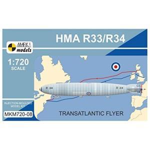 マークI MKM72008 1/720 英空軍 R33/R34飛行船 大西洋横断機|rainbowten