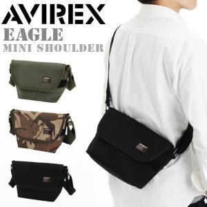 即納 AVIREX アビレックス アヴィレックス EAGLE ショルダーバッグ メッセンジャーバッグ AVX3520 B5 500ml サコッシュバッグ サコッシュ|rainbunker