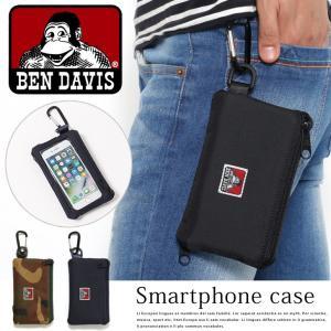 スマートフォンケース マルチポケット付き ベンデイビス BEN DAVIS メンズ レディース ポーチ iPhone7/6s/6 iPhone8 rainbunker