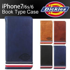 iPhone 7 6s 6 スマホケース Dickies ディッキーズ PUレザー 手帳型 ダイアリー ブランド カード アイフォン アイホン iPhone8 1122p|rainbunker