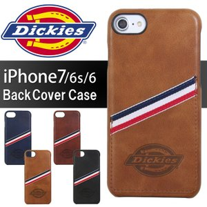 iPhone 7 6s 6 スマホケース Dickies ディッキーズ PUレザー スマホカバー 背面ケース ブランド カード アイフォン アイホン iPhone8 1122p|rainbunker